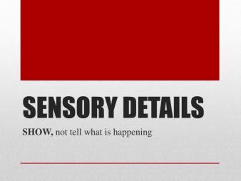 sensory-details-n